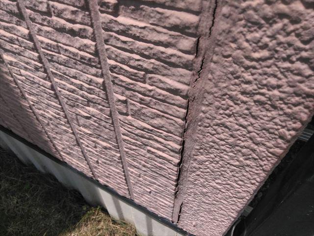 外壁のシーリングの劣化