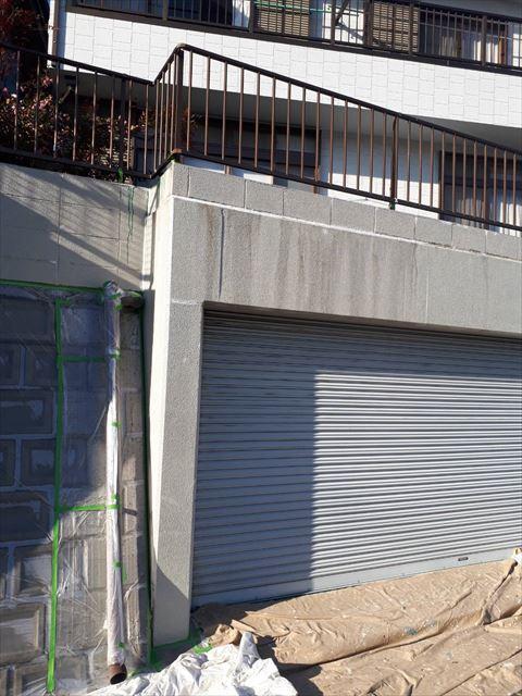 施工前の車庫です