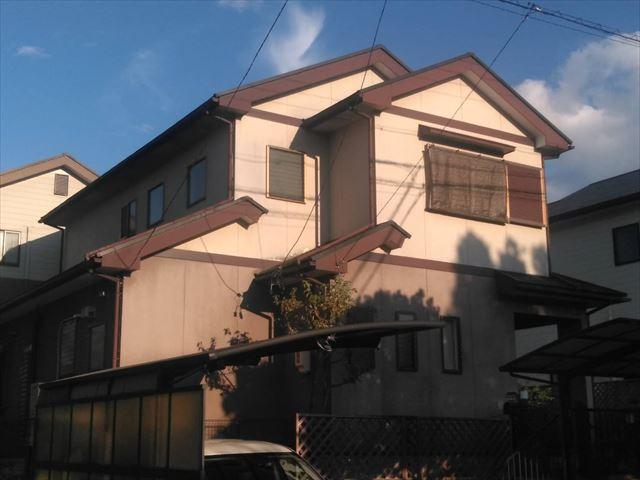 小松邸、施工前