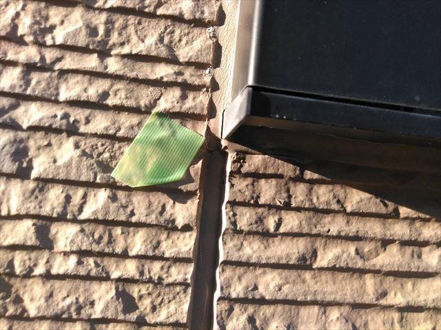 窓枠のシーリング材の劣化