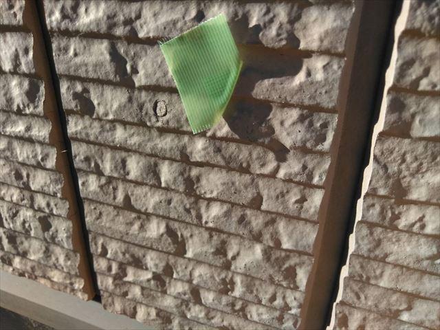 サイディング外壁の色褪せ
