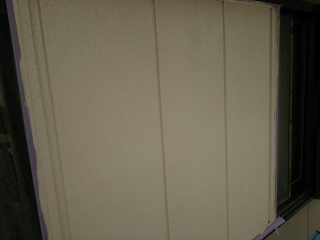 雨戸の塗装完了です