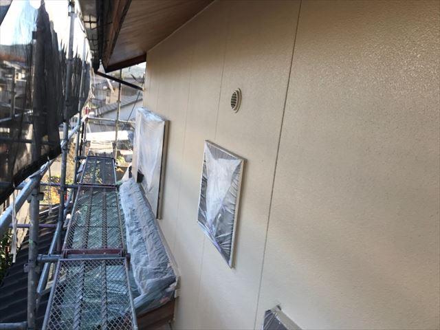 外壁の塗装です