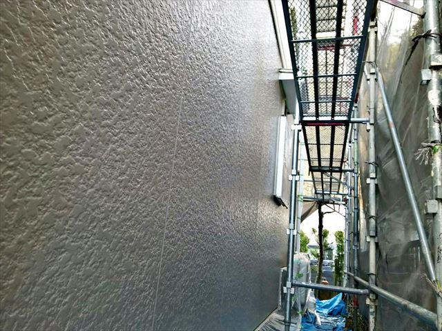 小牧市、外壁の上塗り完了
