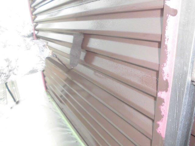 雨戸の塗装です