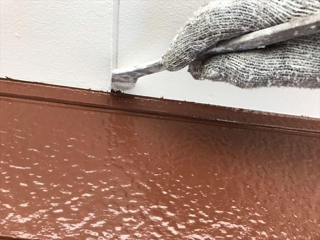 外壁のタッチアップ