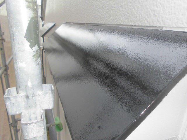 春日井市西高山町で外壁塗装小庇塗装