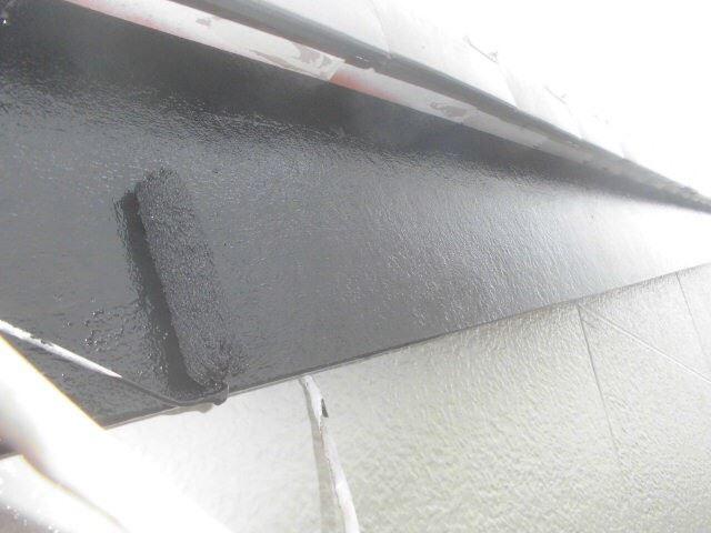 春日井市西高山町で外壁塗装破風塗装