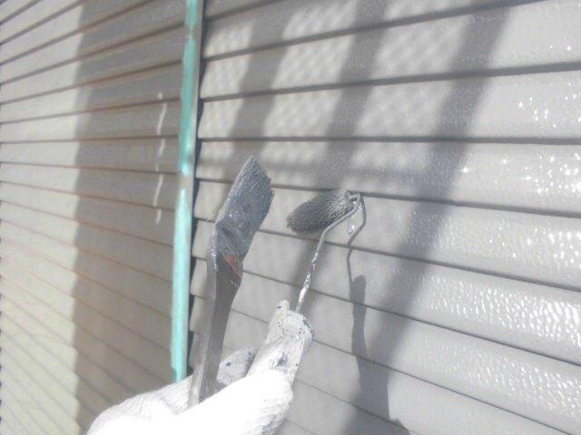 春日井市西高山町で付帯部の塗装