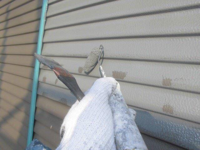 春日井市西高山町で雨戸の塗り替えをおこない、外壁塗装の塗り替えが完成しました