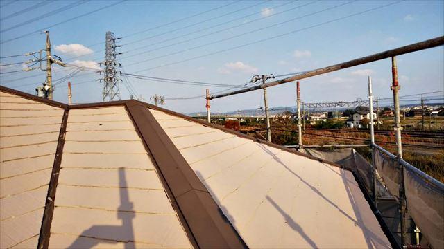 春日井市、屋根塗装