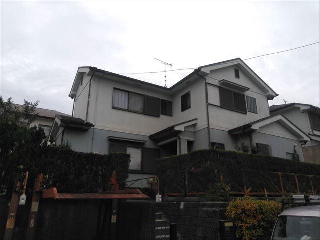 松崎邸、施工前
