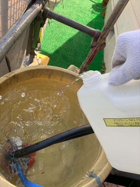 バイオ洗浄と高圧水洗浄