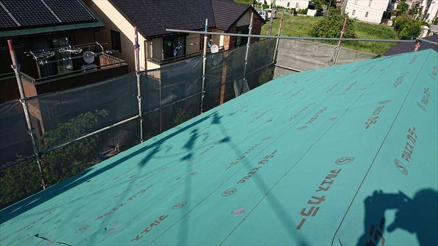 屋根のルーフイング