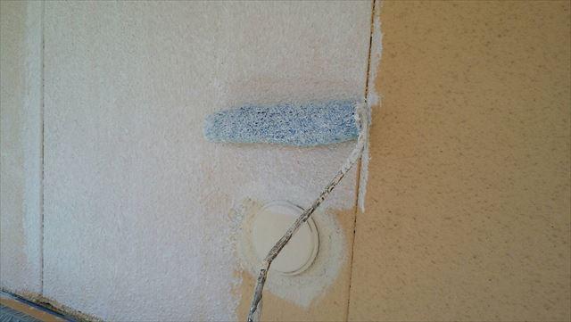 外壁下塗り塗装です