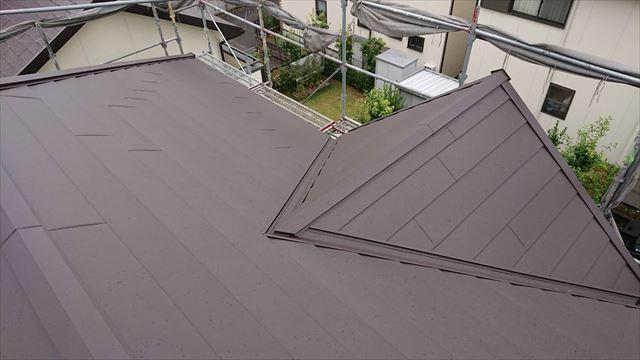 屋根のガルバ、完成