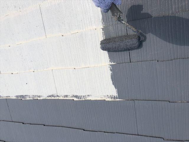 世界最高級断熱塗料ガイナで塗装