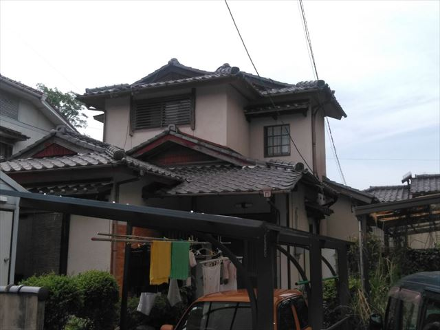 永瀬邸、施行前の写真