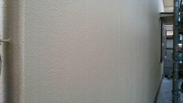 外壁上塗り塗装、完了です
