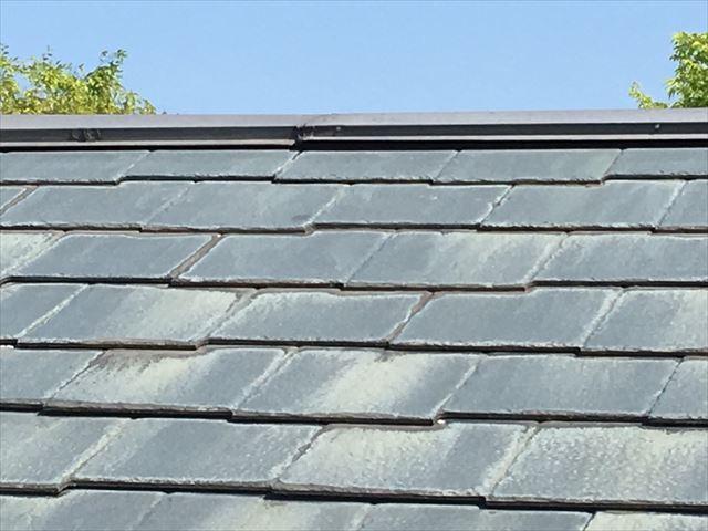 既存のスレート屋根劣化