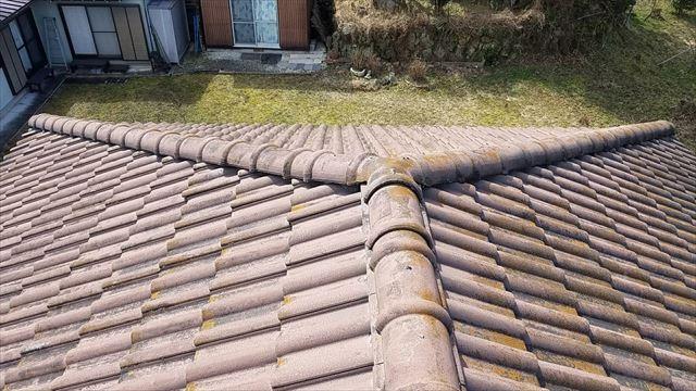 既存の瓦屋根