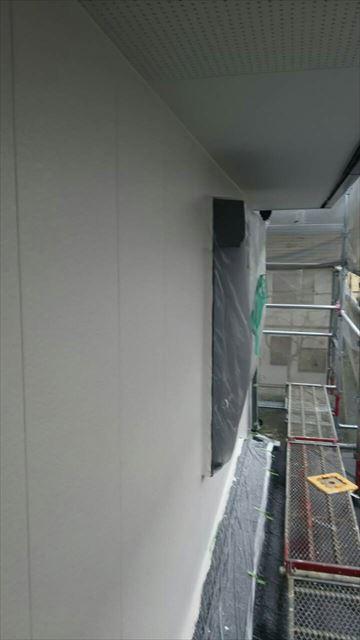 2階の外壁上塗り完了
