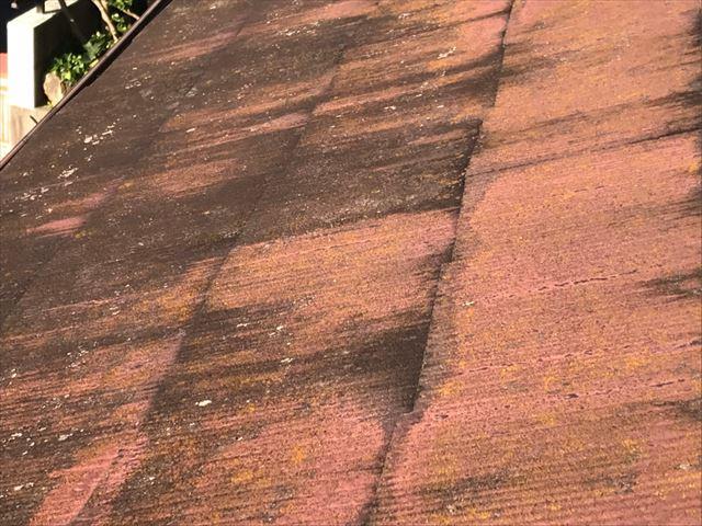 屋根の塗膜の劣化・汚れ