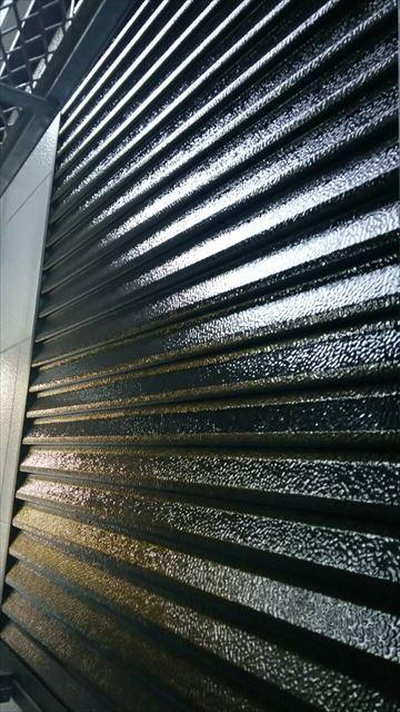 雨戸の塗装完了