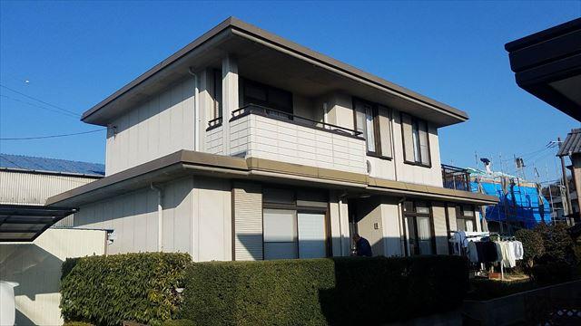 戸田邸、施行前の写真