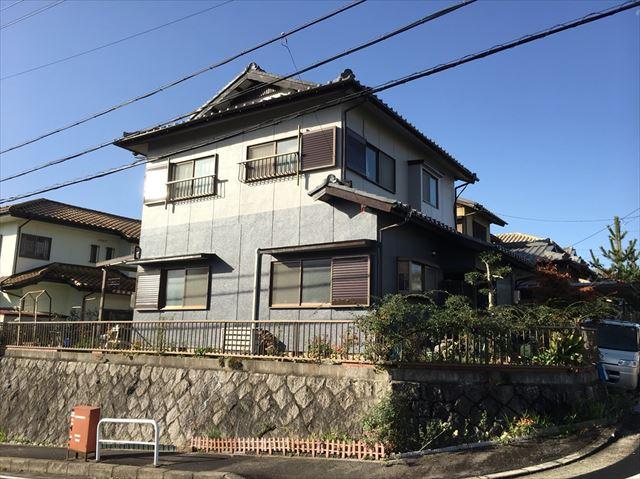 平川邸、施工後