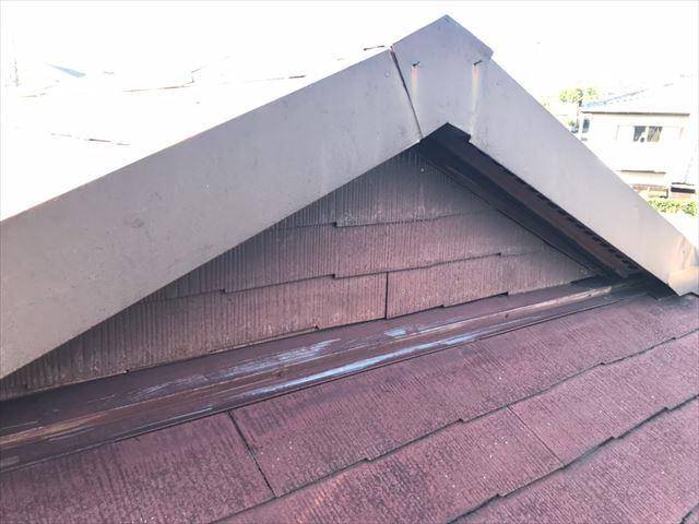 屋根の塗膜の劣化・色褪せ