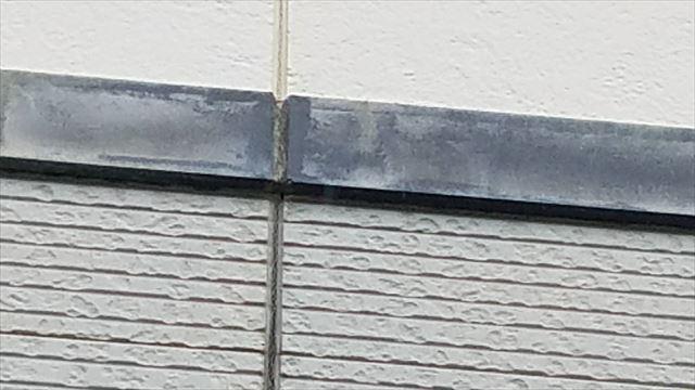 外壁の幕板の色あせ