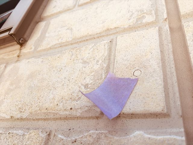 外壁の釘の浮き