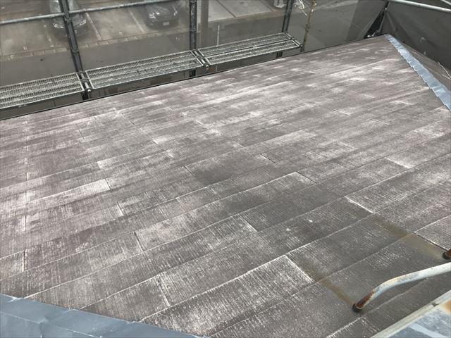 屋根のバイオ洗浄