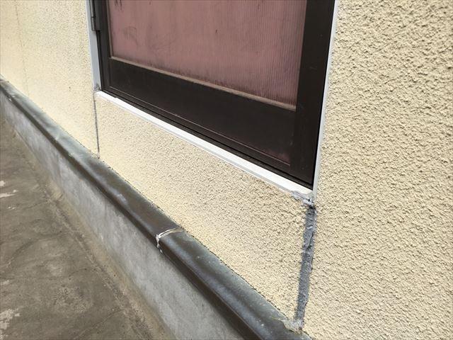外壁の塗膜の劣化です