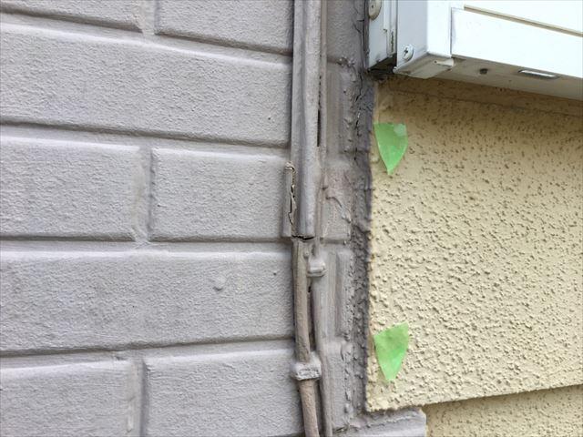 サイディング外壁の釘の浮き