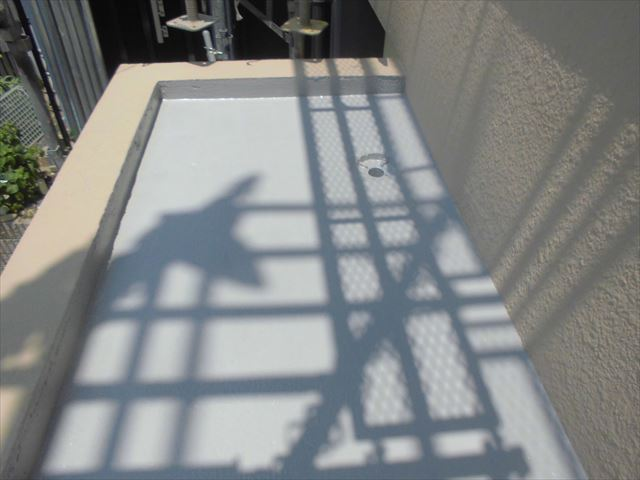 春日井市、陸屋根の塗装