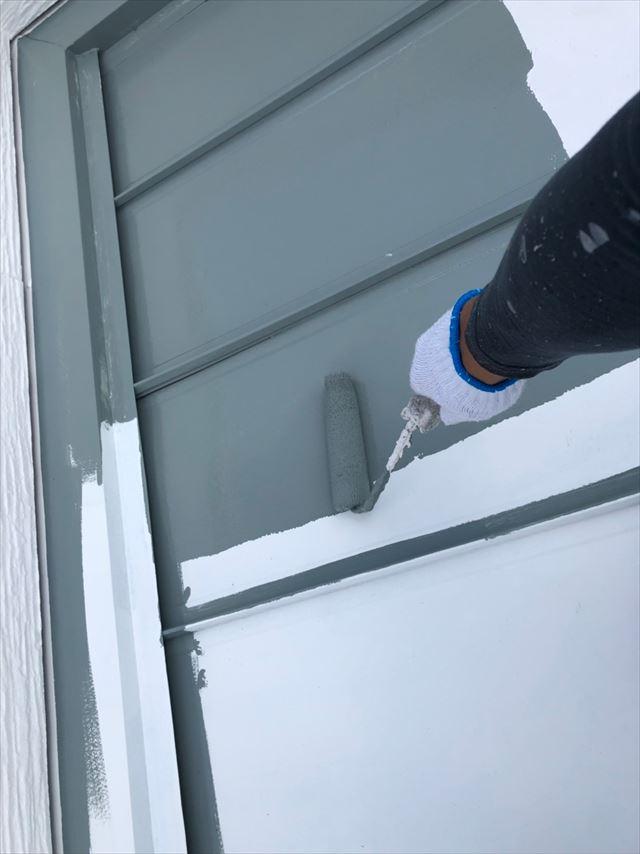 トタン屋根の塗装です