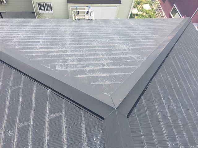 既存のスレート屋根です