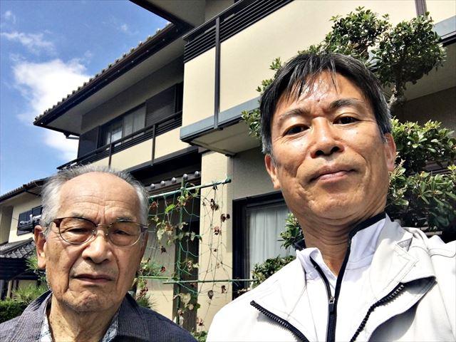 伊藤邸、お客様の写真
