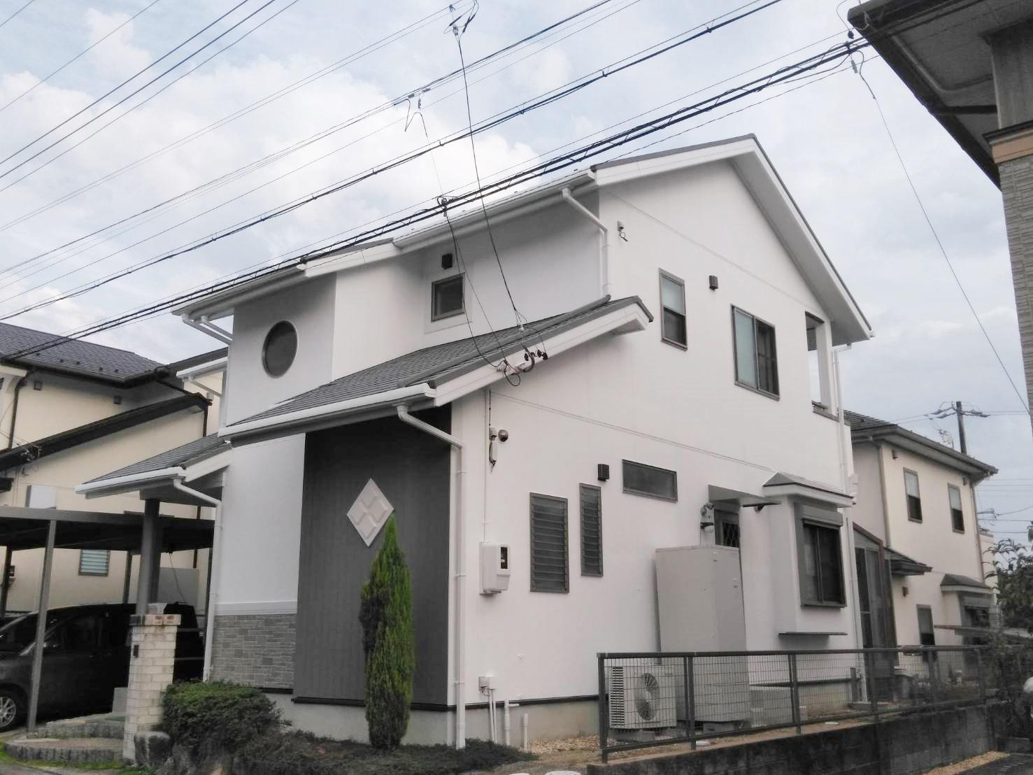 加藤邸、施工後